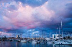 Barcelona by Renata Lamezi, via Flickr, Port Vell