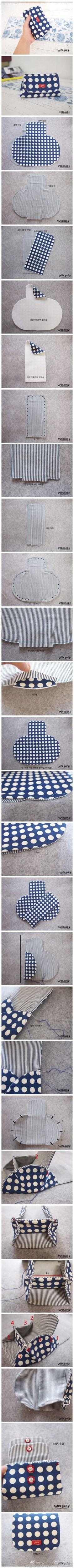 DIY! mini purse pattern