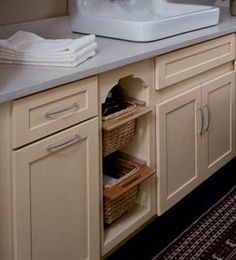 Hmmlaundry room cabinets? | For the Home | Pinterest