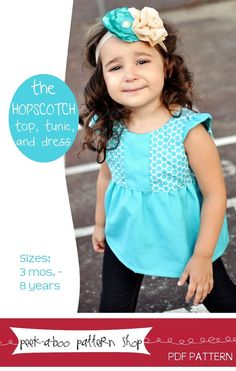 Hopscotch Top, Tunic,