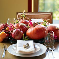 13 easy pumpkin arrangements | Fall decorating with pumpkins | Sunset.com