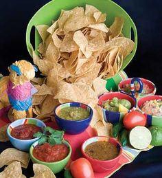 Taco bar...Liv's family party
