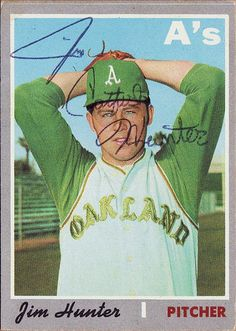 Jim Catfish Hunter 1970