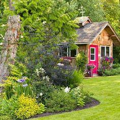 Successful Flower Garden -