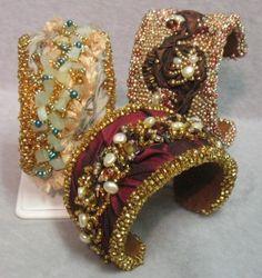 artists, bead bracelet, colors, bead embroideri, beaded bracelets