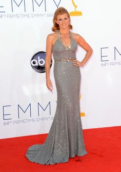 Connie Britton arrives at the 64th Primetime Emmy Awards. #TV #Emmys