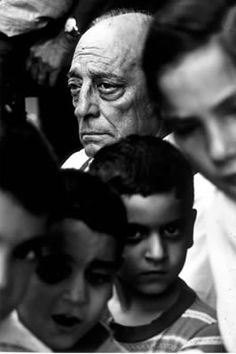 Buster Keaton by Steve Schapiro - New York, 1964.
