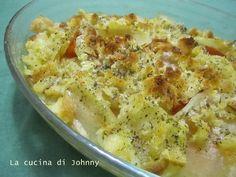 Patate e zucca al forno - Ricetta vegetariana