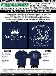Zeta Tau Alpha Bid Day