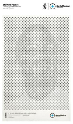 STAR GRID POSTERS by Mark Brooks, via Behance