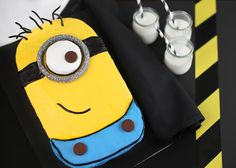 peppermint patties, despicable me 2, food, minion cakes, sheet cakes, minion party, yellow cakes, cake recipes, birthday cakes