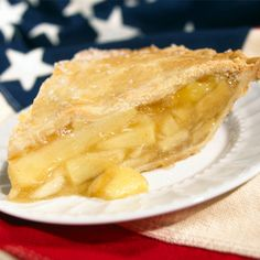 This simple apple pie will be a treat for any guest who happens to be in your kitchen.