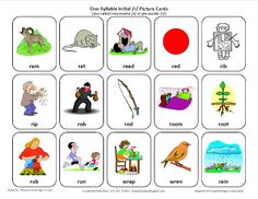 Testy yet trying: Initial R: Free Speech Therapy Articulation Picture Cards. Pinned by SOS Inc. Resources. Follow all our boards at pinterest.com/sostherapy for therapy resources.