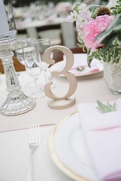Gold table numbers?