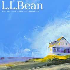 L.L.Bean Late Summer 2014 catalog cover art by Janis Sanders http://www.janissanders.com/