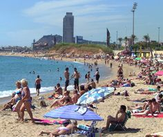 Nude beaches in Barcelona, Spain!