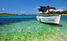 I sooooo wish I was there right now!! #beach #tropical #caribbean #bluewater #boat