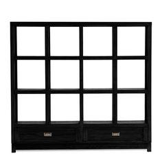 Sonoma Long Bookcase $299