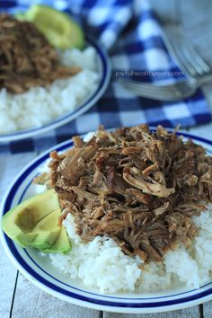 Crock Pot Honey Balsamic Pulled Pork... my new favorite pulled pork recipe! | www.joyfulhealthyeats.com #paleo #glutenfree #easy