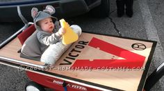 Baby Mouse's First Halloween Costume (And he got the Cheese!)... This website is the Pinterest of costumes