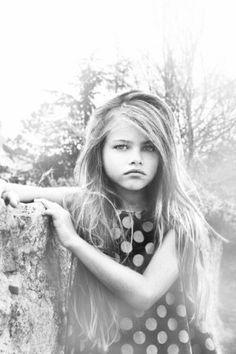 beautiful little girl, 10 yr old model - Thylane Blondeau B