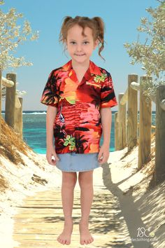 Awesome unisex shirts looks great on girls & boys. Soft, quick dry tropical shirts. Inspired by the sunset. For casual, sports days, cruising or luau parties. Exact matching shorts and adult sizes. #kidshawaiianshirts #boyshawaiianshirtws #girlshawaiianshirt #hawaiianshirt #partyshirts #alohashirts #familymatching #tropicalshirt #alohashirt #cruiseshirts #cruisewear #sportsday #bookweek