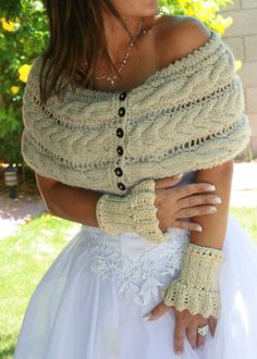 Knitted wrap