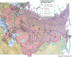 Deportation of ethnic groups in the Soviet Union under Stalin