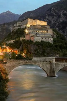 Forte di Bard, Bard, Aosta, Italy