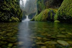 Punchbowl Falls + Eagle Creek, Columbia River Gorge, by Dan Sherman