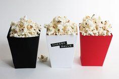DIY Popcorn Boxes + Free Printable