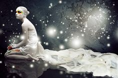 """Infinity"" Body Art Painting :: Photography by Kristina Dyachenko @ http://www.photodom.com/member/Sakura_=1 and http://kdphoto.ru/?tag=body_art"