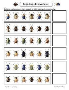 Free bug pattern page