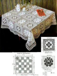 Tablecloth - Szydełkomania