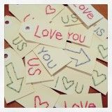 With Heart, HAND STITCHED TAGS | POLKA DOT PIECES, by Polka Dot Creative