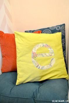 mod podg, podg photo, photo transfer, craft idea, letters, diy, letter pillow, pillows, modpodg