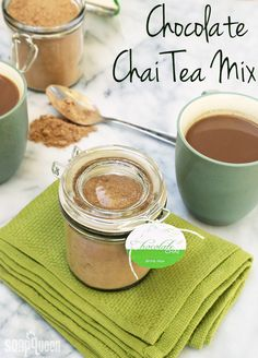 Homemade Chocolate Chai Tea Mix Recipe