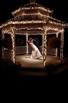 Evening Gazebo Wedding