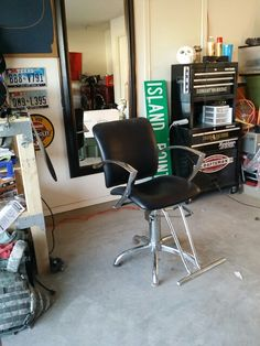 Garage Barber Shop Ideas on Pinterest Barbers, Barber Chair and Home ...