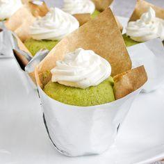 Matcha Green Tea Cupcakes with Honey Buttercream