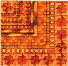 Color Delights Pumpkin (canvaswork)