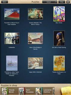 ipad art puzzles