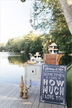 cute vintage cake table ideas #vintagecaketable #weddingsigns #weddingchicks http://bit.ly/1hXU2e1