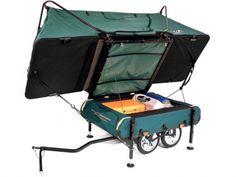 Midget Bushtrekka, an innovative pop up camper for avid outdoorsmen