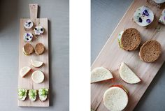 tea sandwiches// sunday suppers