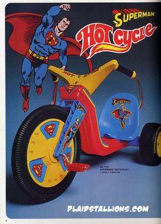 Superman Big Wheel