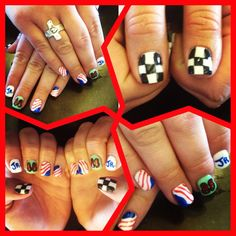 NASCAR nails