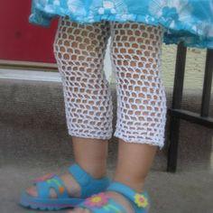 Lil' Crochet Leggings