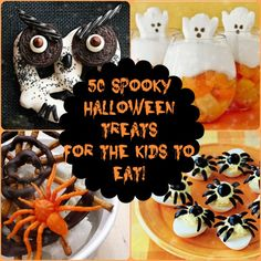 50 Spooky Halloween Treats for the Kids to Eat!