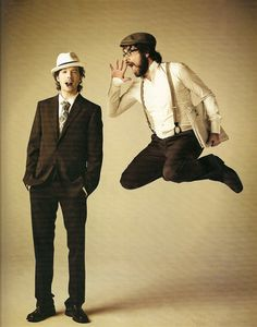 Flight of The Conchords (Bret & Jemaine) So cute!